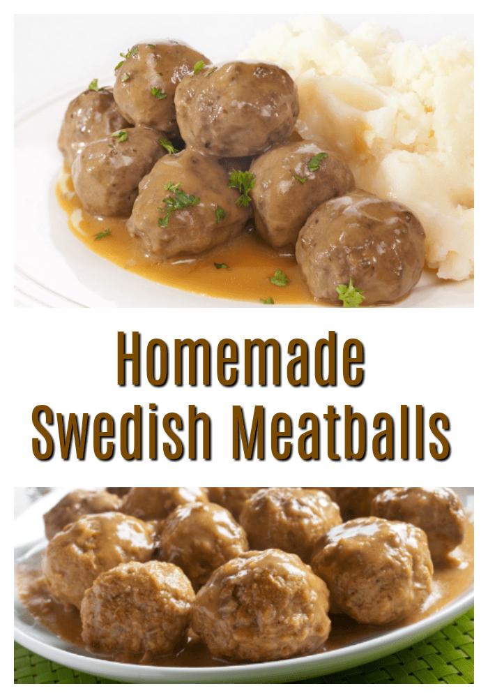 Best Homemade Swedish Meatballs