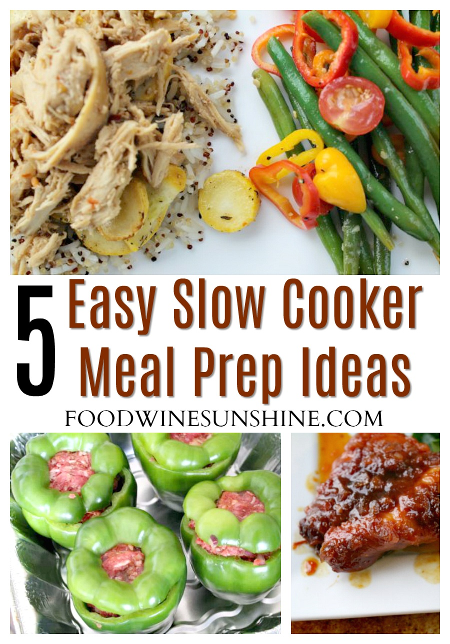 Easy Slow Cooker Meal Prep Ideas