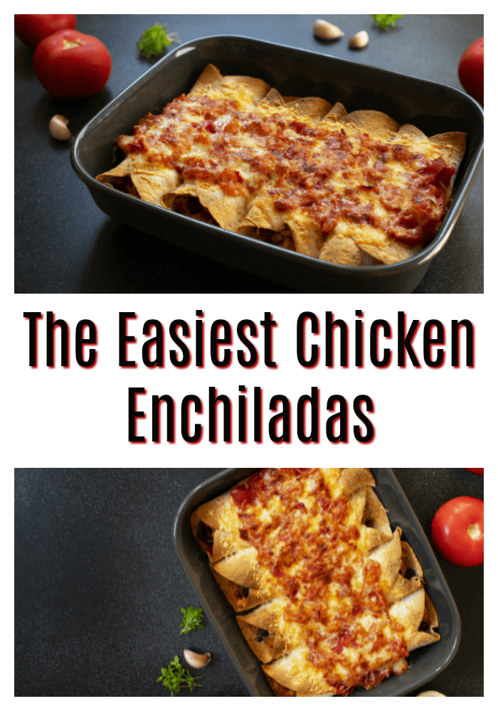 Best Chicken Enchiladas