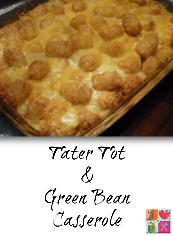 Tater Tot Casserole Recipe on Food Wine Sunshine