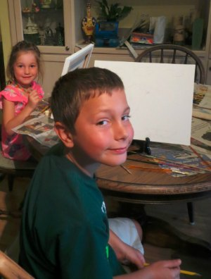 Canvas Painting Ideas For Kids