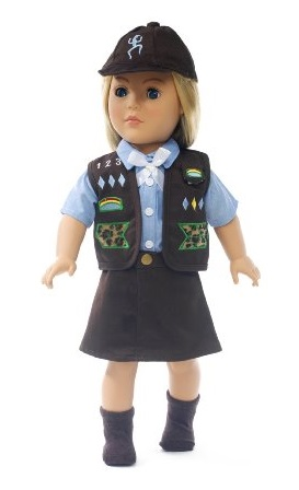 Amazon – Brownie Girls American Girl Doll Outfit Just $10 SHIPPED