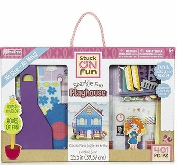 Sparkle Fun Playhouse Kit By PomTree Review + Giveaway