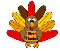 Turkey Giving Thanks Craft