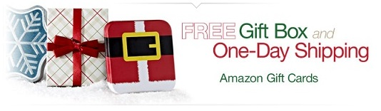 Amazon Gift Cards – Perfect Gift Idea