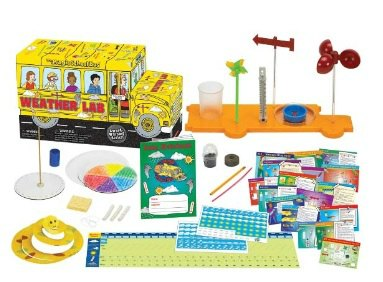 Magic School Bus Weather Lab Review + FREE Science Experiments