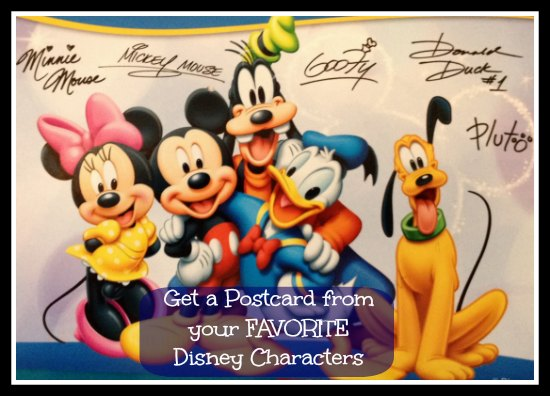 Write A Letter To A Disney Character And Get A Postcard Back