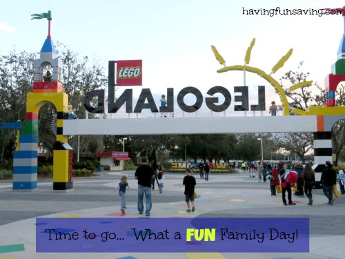 Tips for visiting Legoland with small kids