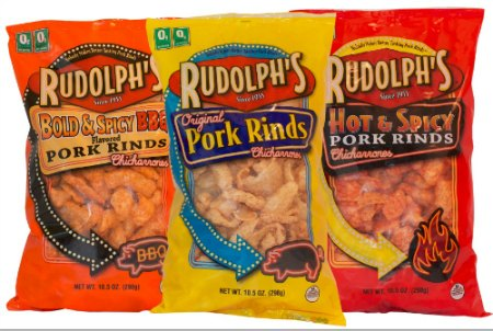 Rudolph Foods – Celebrate Pork Rind Appreciation Day & Win a Year Supply!