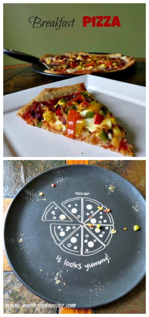 Breakfast Pizza Recipe on Food Wine Sunshine and Cooking
