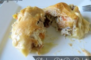 Chicken Pot Pie Pockets recipe