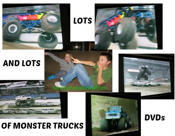 Marshall Publishing LOTS & LOTS of Monster Trucks DVDs Review + GIVEAWAY