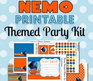 FREE NEMO Party Printables