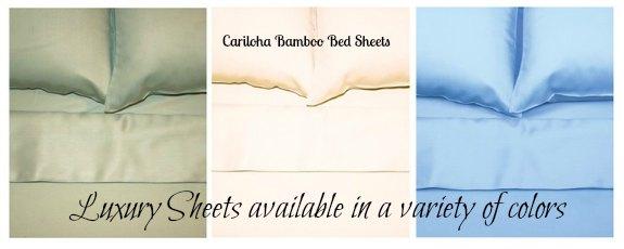 Cariloha Bamboo Sheets Review + GIVEAWAY