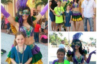Universal Studios Mardi Gras Celebration