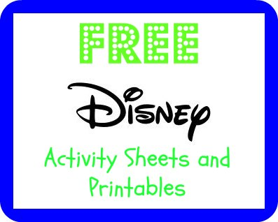 FREE Disney Printables – Frugal Family Fun