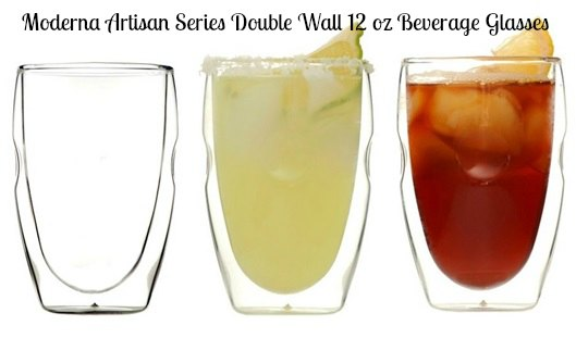 Moderna Artisan Series Double Wall Beverage Glasses Review – By Ozeri