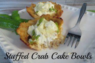 Stuffed Crab Cake Bowls recipe