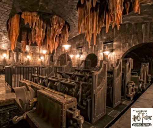Harry Potter and the Escape from Gringotts at Universal Studios – Sneak Peek!