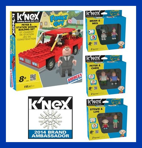 K'NEX Family Guy Sets Review – Get Building With Family Guy!