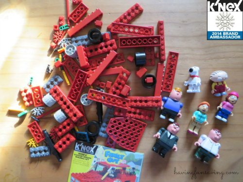 k'nex family guy set review