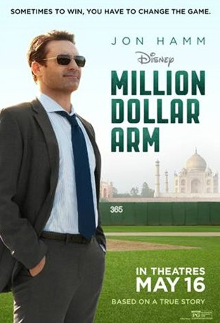 Million Dollar Arm Movie Review #MillionDollarArm