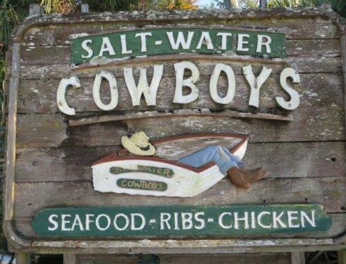Saltwater Cowboys in St. Augustine