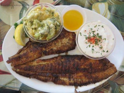 Salt Water Cowboys St. Augustine menu