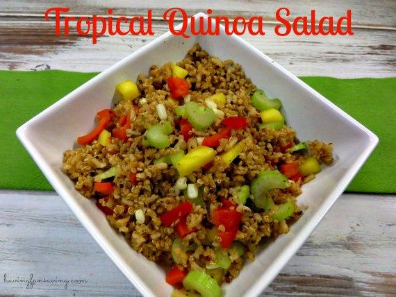 Tropical Quinoa Salad Recipe