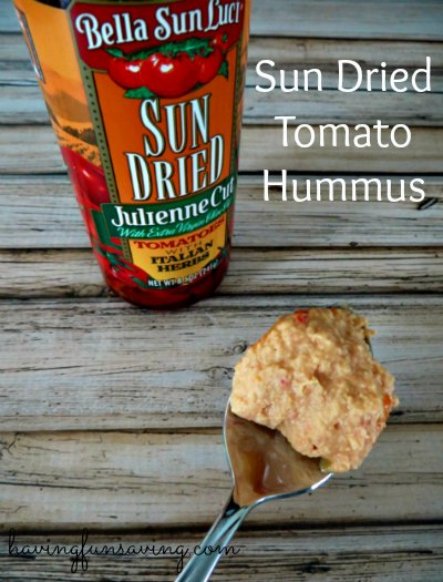 Sun Dried Tomato Hummus Recipe
