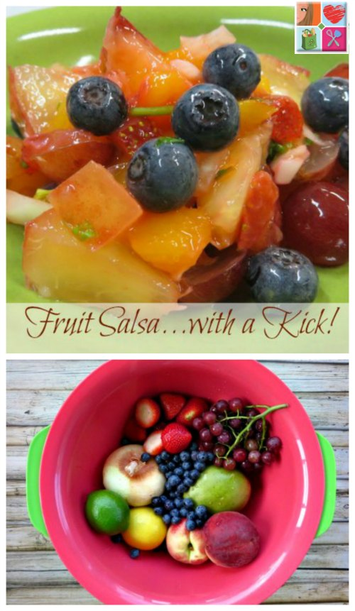 Fresh Fruit Salsa Recipe on Food Wine Sunshine and Cooking