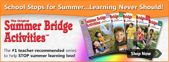 Help Prevent Summer Learning Loss With Summer Bridge Activities Workbooks + GIVEAWAY