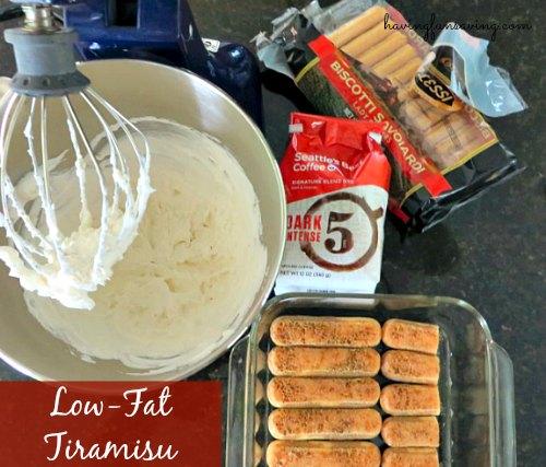 Low-Fat Tiramisu Recipe