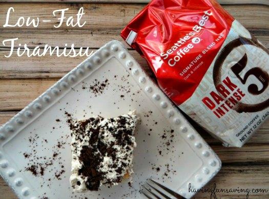 Low Fat Tiramisu recipe