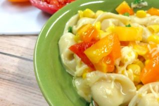 Tortellini and Fresh Tomato Pasta Recipe