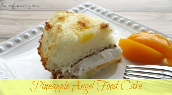 Pineapple Angel Food Cake