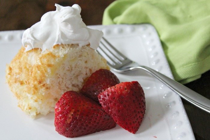 Low Fat Pineapple Angel Food Cake