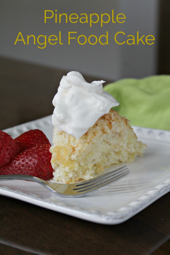 Easy Pineapple Angel Food Cake