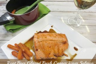 Root Beer Glazed Salmon Recipe