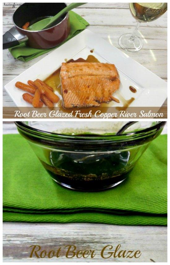 Root Beer Glazed Salmon Recipe
