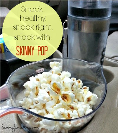 Guilt Free Snacking With Skinny Pop Popcorn #theskinnypop