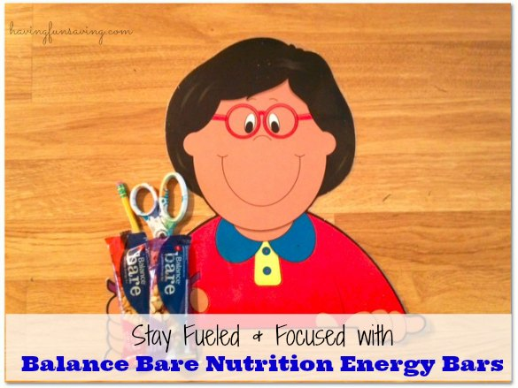 Tips On How To Survive Back To School – Balance Bare Nutrition Bars #BalanceisintheBag