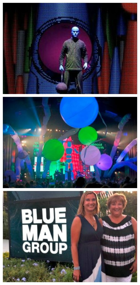 Blue Man Group in Orlando on Food Wine Sunshine