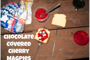 Chocolate Covered Cherry Magpies recipe