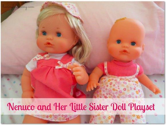 Little Sister Doll Playset by Nenuco