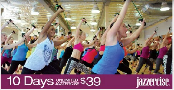 Jazzercise Labor Day Sale – Lose Up To 600 Calories Per Class!