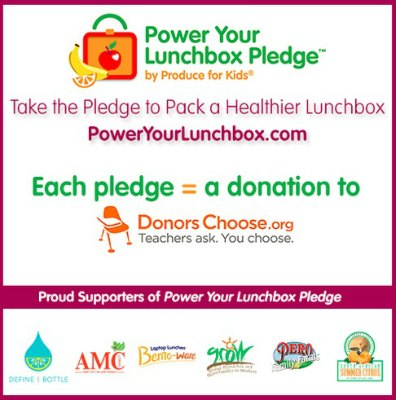 Take The Power Your Lunchbox Pledge + Giveaways #PowerYourLunchbox