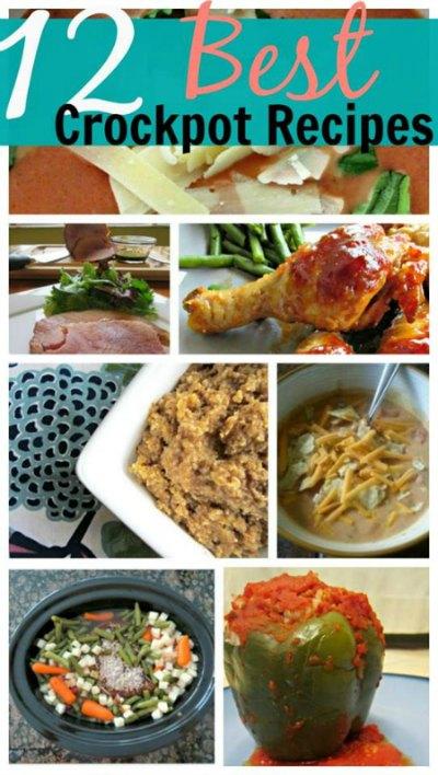 Crockpot Recipes – 12 Easy & Delicious Favorites