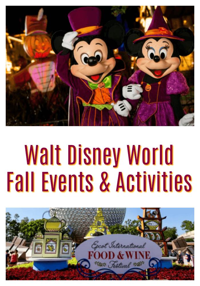 Walt Disney World Fall Events