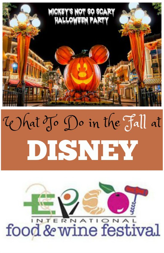 What to do in Disney in the Fall on Food Wine Sunshine